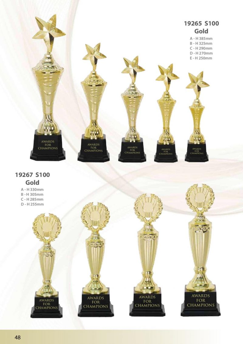 19265 S100 Gold | Awards For Champions | Will Global Trading
