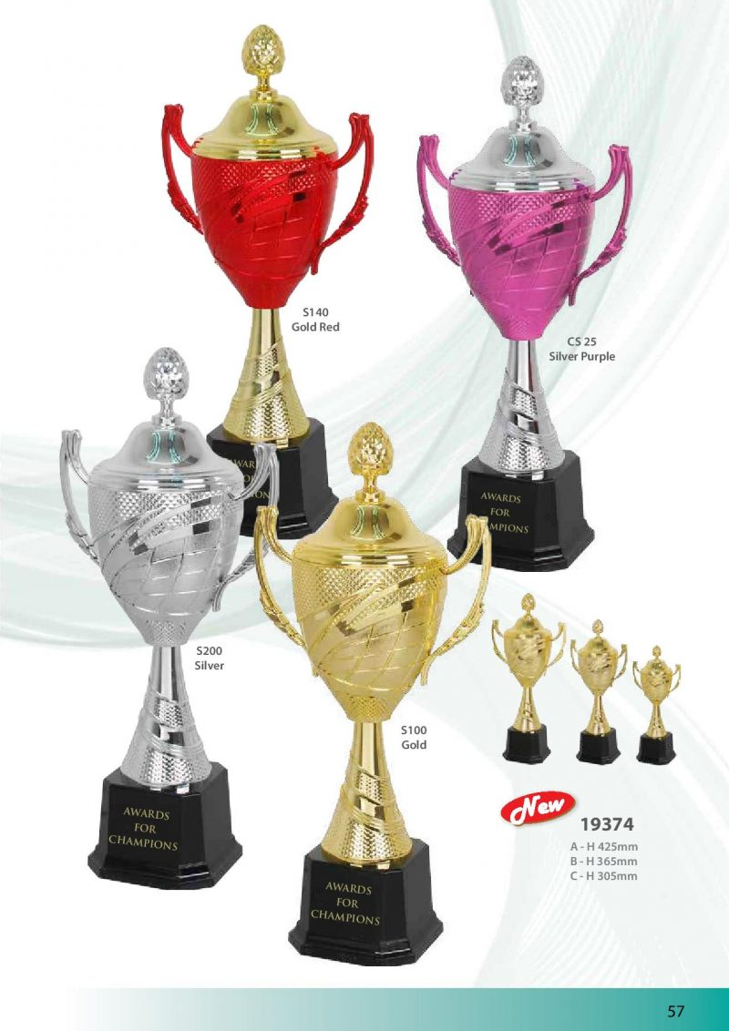 S140 Gold Red | Awards For Champions | Will Global Trading